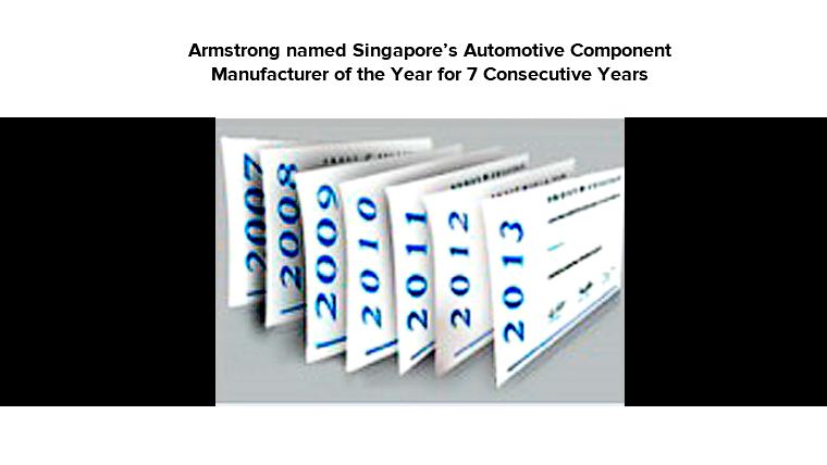 Automotive Component Manufacturer of the Year (2007-2013)